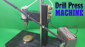 How To Make Powerful Drill Press 12volt With <b>775 Motor</b> - YouTube