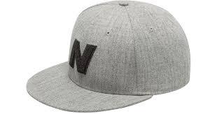 New Balance <b>Exploded Logo Hat</b> in Gray for Men - Lyst