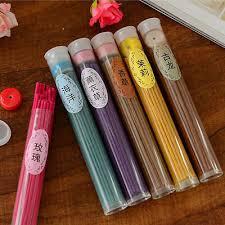 <b>50pcs Floral Scent</b> Incense Candle Fragrance Sticks Burner Home ...