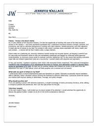 insurance cover letter example powerful cover letter examples