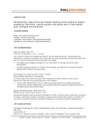 marketing profile resume marketing resume account management marketing profile resume
