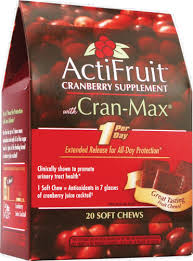 Enzymatic Therapy ActiFruit Cranberry Soft Chew, 20 CT - Kroger