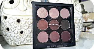 M.A.C Eyeshadow x 9: Burgundy Times Nine ... - Beauty&Melody