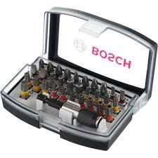 Купить <b>набор бит 32 предмета</b> Bosch Pro Colored 2607017319 в ...