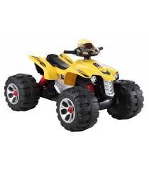 <b>Электроквадроцикл Joy Automatic 318</b> BigQuad желтый | Купить ...