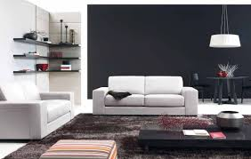 modern contemporary living room decorating with custom furniture black modern living room furniture