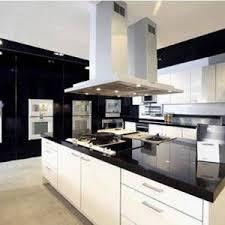 built modern appliances stainless steel