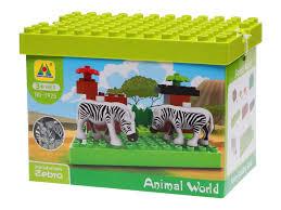 <b>Конструктор Hongyuansheng toys Animal</b> World, Зебры купить в ...