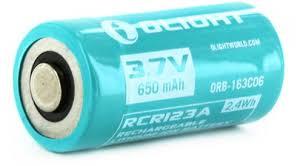 """Отзывы на <b>Аккумулятор</b> для фонаря <b>Olight</b> """"<b>ORB</b>-<b>163C06</b>"""", 16340 ..."""