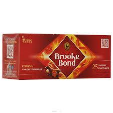 Купить <b>Чай черный BROOKE BOND</b> пакетированный, 25х1,8г в ...