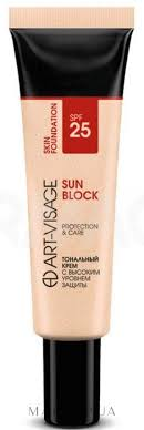 <b>Art</b>-<b>Visage Sun</b> Block SPF25 Protection & Care - <b>Тональный крем</b> ...