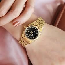 CHENXI Luxury <b>Women Gold Watches Waterproof</b> Casual Golden ...