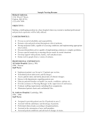 nursing student resume examples anuvrat info examples of nursing student resume objectives nurse resume example