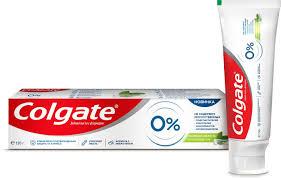 <b>Зубная паста</b> Colgate 0% Бодрящая <b>Свежесть</b> от кариеса, 130 г ...