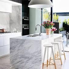 calacatta marble kitchen waterfall: perfect calcutta marble kitchen   perfect calcutta marble kitchen