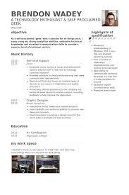 technical support resume samples   visualcv resume samples databasetechnical support resume samples