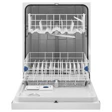 Silverware Dishwasher Wdf520padb Whirlpool Built In Front Control Dishwasher With