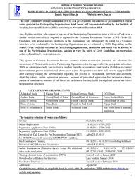 what are the required qualifications to apply for ibps clerical here i am uploading a pdf file from where you can collect more information about the examination