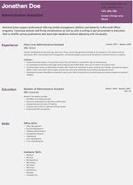 entry level administrative assistant resume template design resume examples for entry level administrative assistant entry inside entry level administrative assistant resume 7040