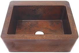 quot farmhouse copper kitchen sink image c image