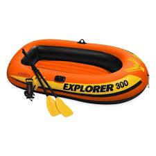 <b>Лодка надувная INTEX</b> EXPLORER 300 SET, 3-мест.+ ручной ...