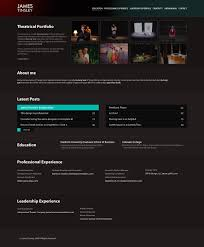 resume website by manujg on resume website by manujg