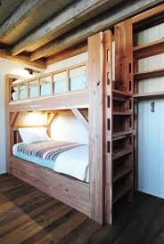 wooden bunk beds kids rustic with exposed wood beams kids built in bunk beds rustic modern bunk beds kids dresser