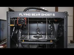 Обзор 3D принтера <b>Flying Bear Ghost 5</b>. - YouTube