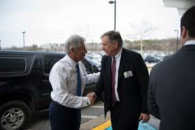 u s department of defense photo essay defense secretary chuck hagel meets richard ledgett deputy director of the national security agency