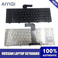 Russian Keyboard <b>For DELL Inspiron</b> 14R <b>N4110</b> M4110 N4050 ...