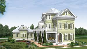 Story Home Plans   Three Story Home Designs from Homeplans com Bedroom Cottage Home Plan HOMEPW