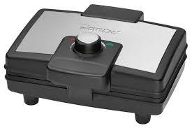 Купить Вафельница <b>Clatronic WA</b> 3606 <b>черный</b>/серебристый по ...