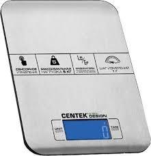 Кухонные <b>весы Centek CT-2464</b>, нержавеющая сталь — купить в ...