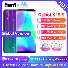 <b>Cubot X19 S</b> 5.93 Inch Android 8.1 Helio P23 Octa Core mobile ...
