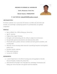 doc sample resume of a nurse com nursing resume format professional nursing portfolio examples