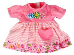Купить <b>одежду для кукол</b> Платье в полоску <b>Карапуз</b> 40 - 42 см ...
