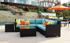 patio couch set  patio sale valencia corner outdoor wicker sectional sofa by patio republic large patio sets patio