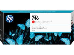 <b>HP 746</b> 300-ml <b>Chromatic</b> Red <b>DesignJet</b> Ink Cartridge | <b>HP</b>® Israel