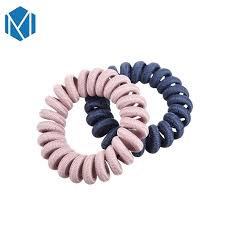 <b>M MISM 2Pcs</b>/Set Elastic Hair Durable Band Telephone Wire Cord ...