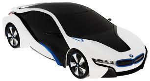 <b>Rastar</b> Радиоуправляемая модель <b>BMW i8</b> цвет черный белый ...