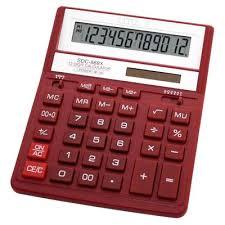 <b>Калькулятор настольный Citizen SDC-888XRD</b> 12-разрядный ...
