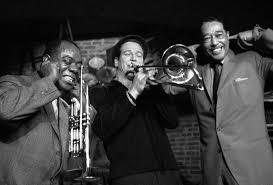 <b>Louis Armstrong</b>, Paul Newman and <b>Duke Ellington</b> by Herman ...
