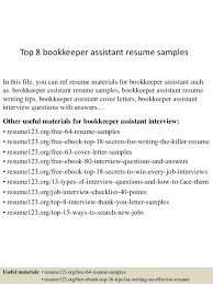 bookkeeper assistant resume samplesin this file you can ref resume bookkeeper resume examples