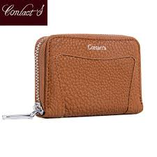 CONTACT'S Small <b>Women Wallets</b> Genuine Leather Mini <b>Purses</b> ...
