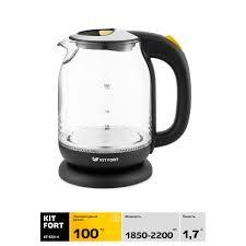 <b>Электрический чайник Kitfort</b> КТ-<b>654</b>-4 в Казани – купить по ...