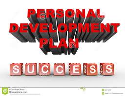 career development stock photo image  3d personal development plan royalty stock photography