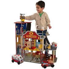 Набор <b>Пожарно</b>-<b>Спасательная станция Kidkraft</b> Делюкс — купить ...
