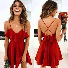<b>LOSSKY</b> New <b>2018</b> Fashion <b>Women</b> Dress Short Sleeve Floral ...