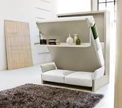 delightful furniture best bedroom space saving design ideas with white murphy bed along white comfortable sofas black bed with white furniture
