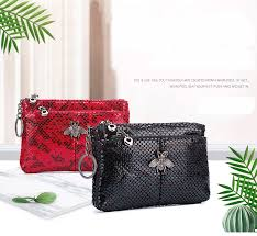<b>Fashion</b> Coin Purse Ladies Real Leather Wallets Coin Pouch with ...